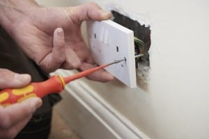 Electrician in worcester domestic rewires